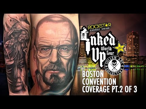 Rockstar Energy Inked Up Tour Tattoo Convention Coverage Boston part 2 of 3