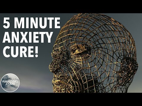 ASMR 5 Minute Anxiety Cure!