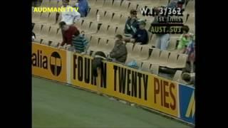 WEST INDIES 606 runs vs Australia 3rd Test 1992