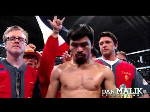 Manny Pacquiao Introduction Michael Buffer EXCLUSIVE