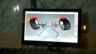 МИРовой блог: Углы установки колёс ГАЗ-Соболь, после  замены развальных шайб