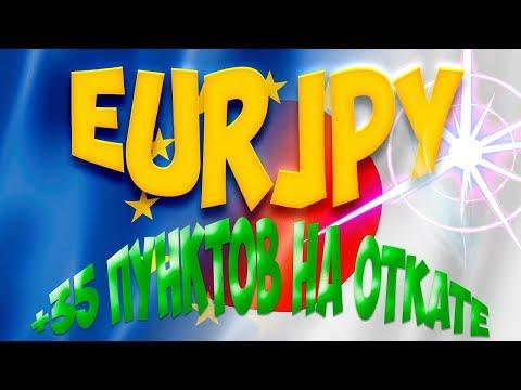 Заработок на EURJPY по торговой системе.