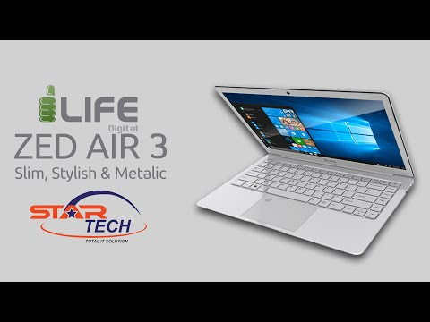 i-Life ZedAir 3 || Ultra-Slim Budget Laptop Review | Star Tech