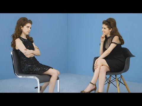 Pitch Perfect Star Anna Kendrick Interviews Herself