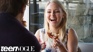 'Carrie Diaries' Star AnnaSophia Robb Talks Cronuts and Unicorns –Breakfast with Bevan–TeenVogue