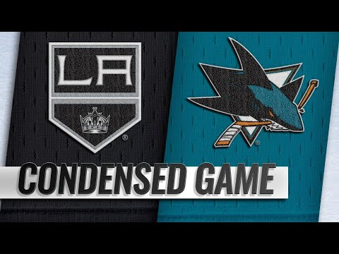 01/07/19 Condensed Game: Kings @ Sharks