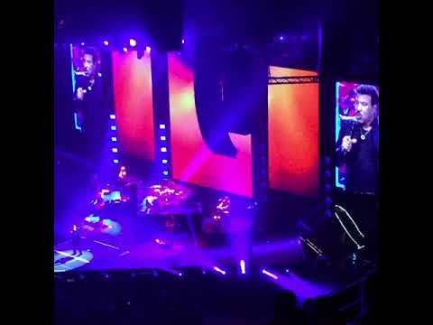Lionel Richie at TD Garden 2017