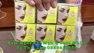 Kem Nghệ Trị Mụn Q Care White Thái Lan 5gr - 75k - 0938416889