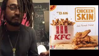 Kfc Selling Chicken Skin?!