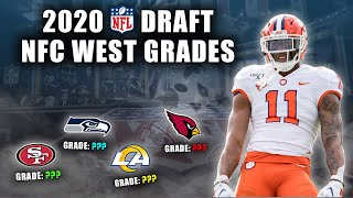 2020 NFL Draft Grades | All 7-Rounds | NFC West | The Best Division In Football?