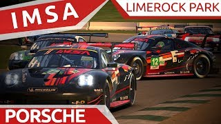 IMSA at Limerock! Survive and thrive!
