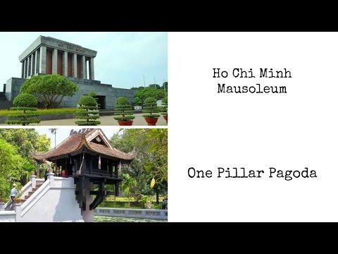 Ho Chi Minh Mausoleum and One Pillar Pagoda | Hanoi | Vietnam | 22th November 2016 |