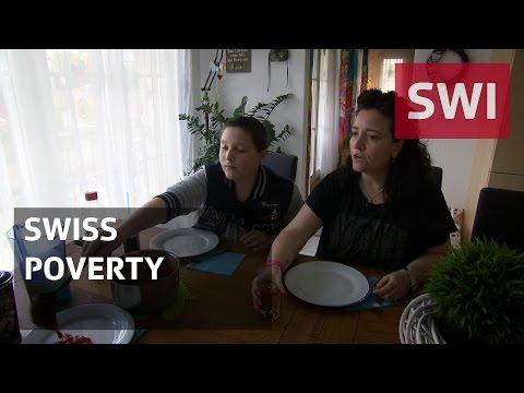 Living below the Swiss poverty line