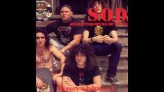 14)S.O.D.Stormtroopers Of Death - Speak English Or Die- Live