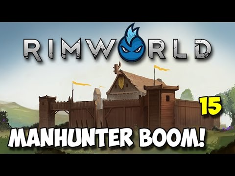 RimWorld Alpha 16 - Ep.15 - MANHUNTER BOOMALOPES! - Tribal Let's Play Guide