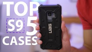 Top 5 Galaxy S9 Cases: Fall 2018