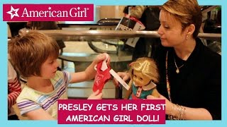 American Girl store with Mommy and Gracie- Day 532 | ActOutGames