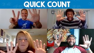 Playworks Keep Playing Game: Quick Count