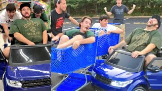 CRAZIEST STUNTS IN TOYSRUS PARKING LOT EVER! SHOPPING FUN WITH FRIENDS!