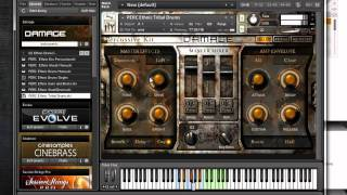 Heavyocity DAMAGE percussion from Native Instruments review