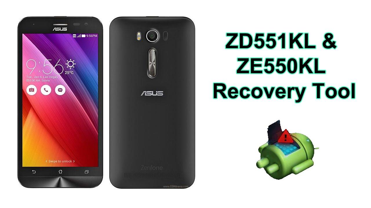 Asus Zenfone Recovery Tool - Unbrick, Downgrade, Unroot, Restore