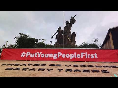 #25heures de Dakar, West & Central Africa Youth ready for #NairobiSummit