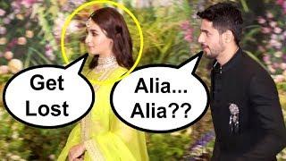 Alia Bhatt ROYALLY Avoids Sidharth Malhotra At Sonam Kapoor Reception