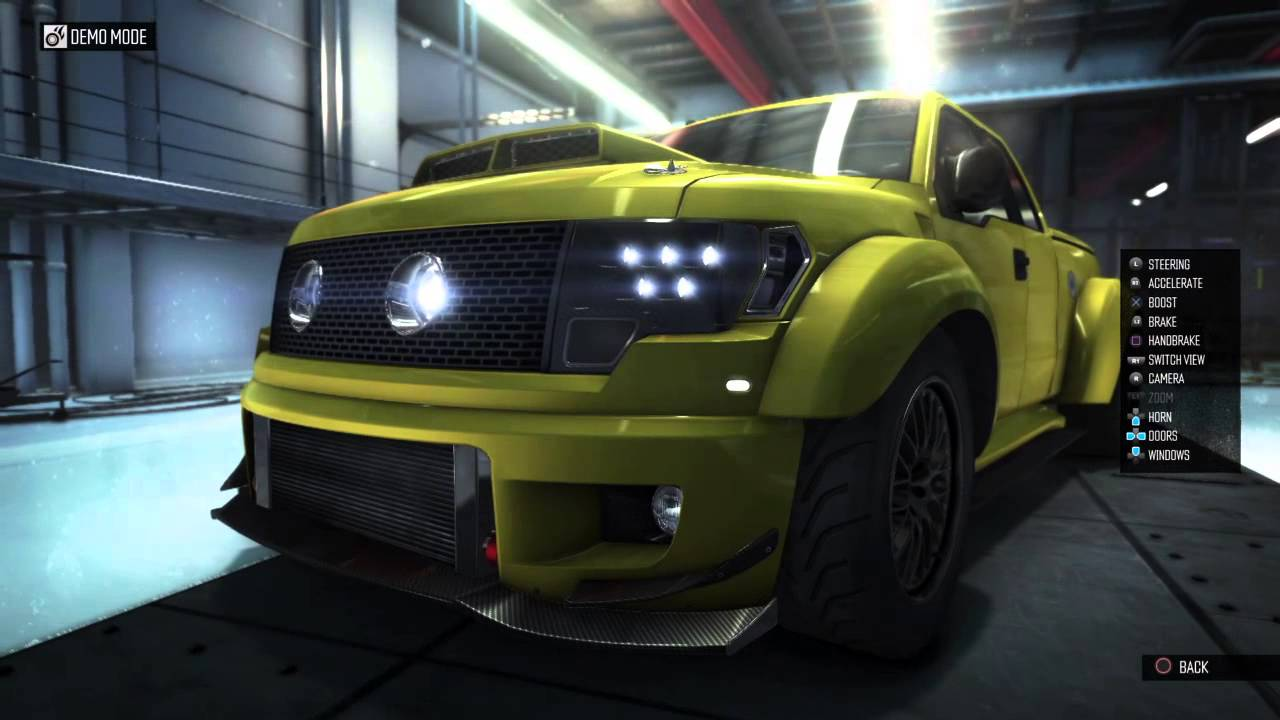 The Crew Ford F 150 Svt Raptor 2010 Garage Tuning