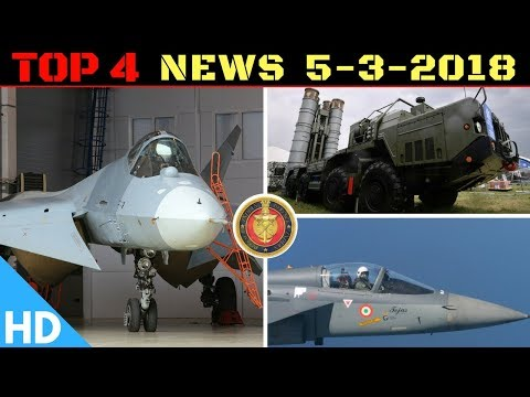 Indian Defence Updates : S400 India Contract Signing,FGFA Deal,Tejas MK2,China Raises Defence Budget