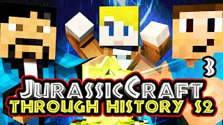 """TWISTER & DANGEROUS TRAVELS"" Minecraft - Jurassic Craft S2 ""Through History"" w/Chrisandthemike [RP]"
