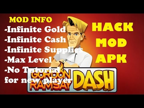 Gordon Ramsay Dash Cheats | Gordon Ramsay Dash Hack | Gordon Ramsay Dash Mod Apk 2017