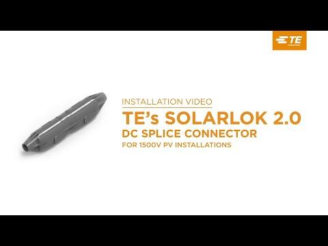 TEs SOLARLOK SLK 2.0 PV Splice Connectors