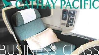 Cathay Pacific BUSINESS CLASS|Bangkok to Hong Kong|Boeing 777-300ER