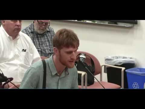 Transit activist and OPAL member David Bouchard