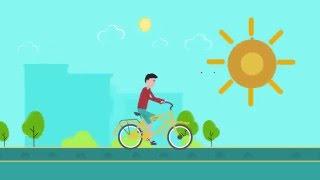 Bikes can change our lives for the better .. بالعجلة حياتنا هتتغير للأحسن