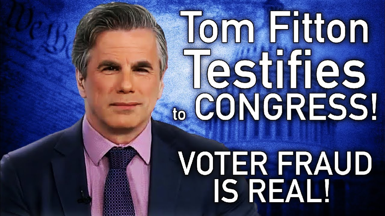 Tom Fitton Obliterates the Left on VOTER FRAUD In Congressional Testimony!