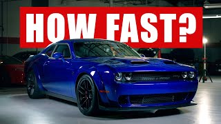 How Fast Is The Hellcat REDEYE?