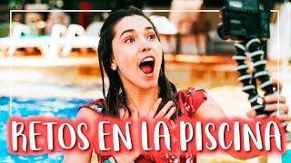 5 minutos BAJO EL AGUA - Retos en una piscina PARTE 2 I By Kika Nieto