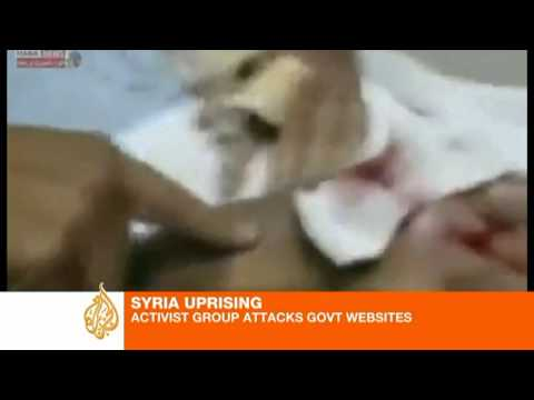 Activists hack into Syrian government sites
