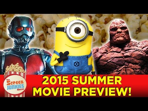 Top 10 Summer Movies 2015
