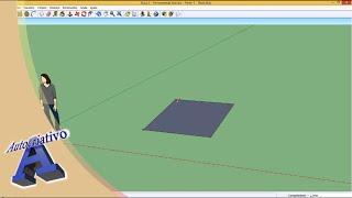 Curso de SketchUp - Aula 02/20 - Módulo Básico - Autocriativo