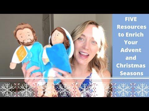 QOA: FIVE Advent & Christmas Resources for You!   PLUS Bonus Giveaway!