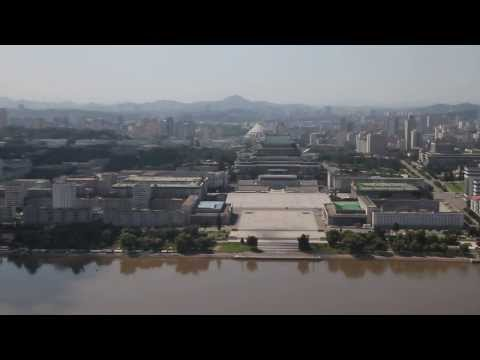 North Korea - Pyongyang panorama views from Juche Tower