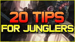 ✔ HOW TO JUNGLE - 20 TIPS & RULES TO BE A BETTER JUNGLER | CHALLENGER | League of Legends | Season 3