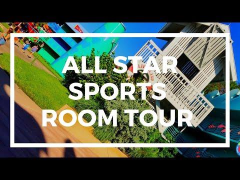 Disney's All Star Sports Room Tour