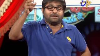 Jabardasth - Chalaki Chanti Performance on 24th April 2014