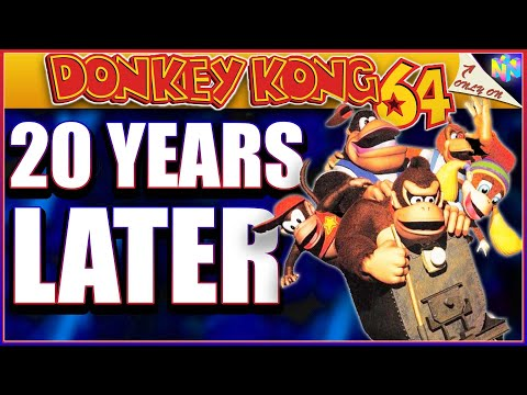 Donkey Kong 64 Review: 20 Years Later - Was It THAT Bad? (2019)