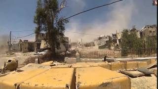 Война видео Сирия Танковый бой Сирия против ИГИЛ   YouTube