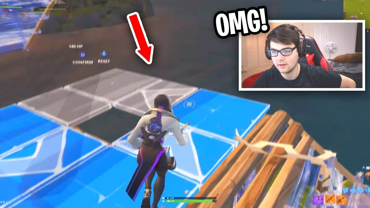 Reacting to the most Creative Builder in Fortnite (you've NEVER seen this before)