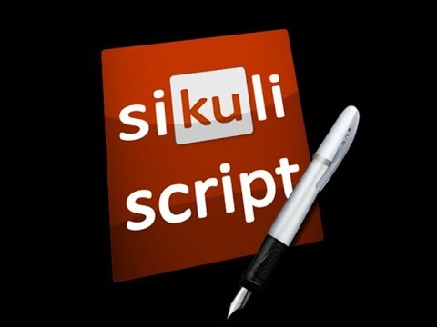 How to use Selenium with Sikuli (Automate Flash Objects) - 동영상